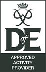 DofE logo mid grey RETAILER