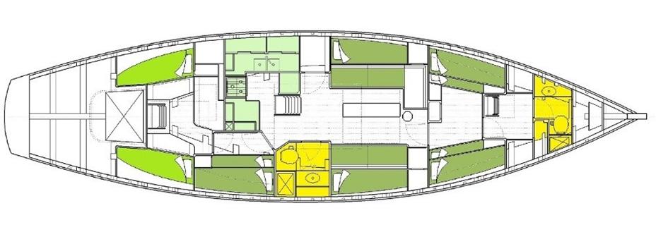 Pegasus boat layout