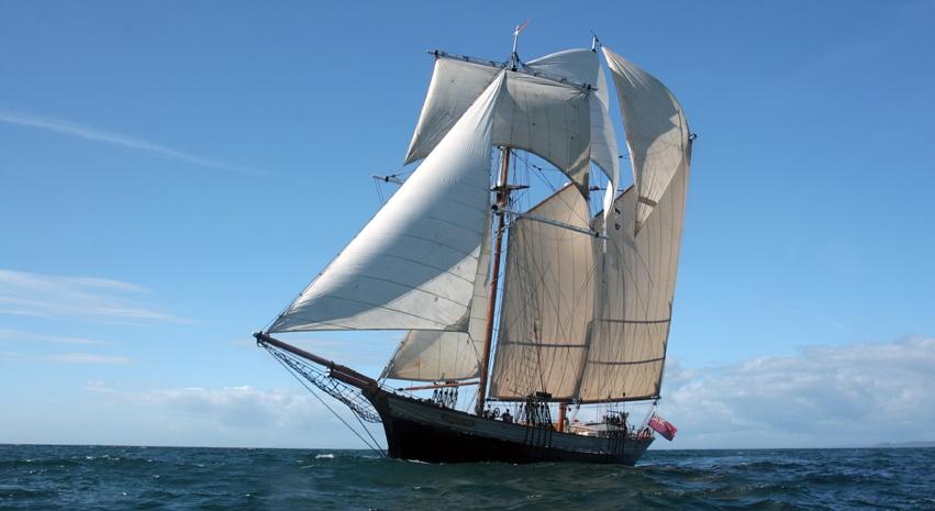 Topsail Schooner Johanna Lucretia joins our fleet