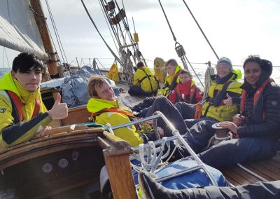 Pegasus sail training boat boats