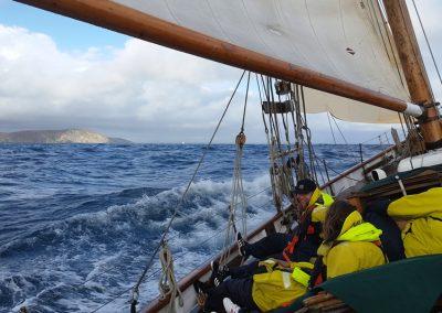 Pegasus sail training boat