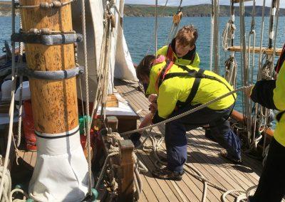 Pegasus sail training boat pilot cutter