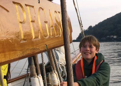 Pegasus Pilot Cutter sail training boat