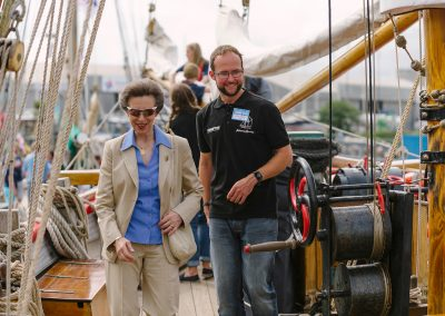 JimW-Island Trust Princess Royal Visit 132